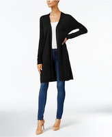 JM Collection Button-Detail Duster Cardigan, Created for Macy's