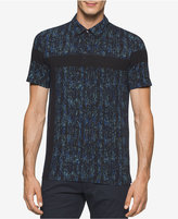 Calvin Klein Men's Printed Polo