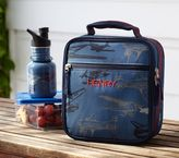 Pottery Barn Kids Mackenzie Blue Plane Lunch Bag