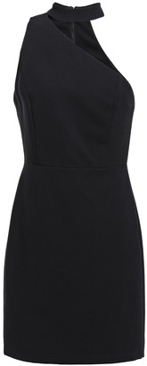 Alice + Olivia Skyla One-shoulder Stretch-crepe Mini Dress