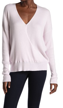 Elodie K Ribbed Wrap Sweater
