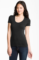Splendid Women's Lightweight Scoop Jersey Tee