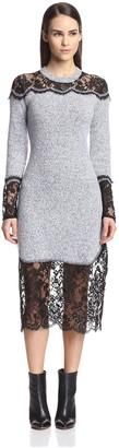 Thakoon Women's Lace Combination Dress