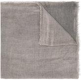 Faliero Sarti distressed effect scarf - women - Silk/Modal - One Size