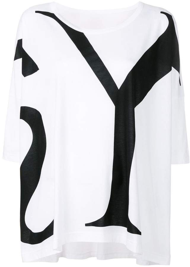 Y's logo print relaxed T-shirt