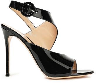 Gianvito Rossi Helica 105 Patent-leather Sandals