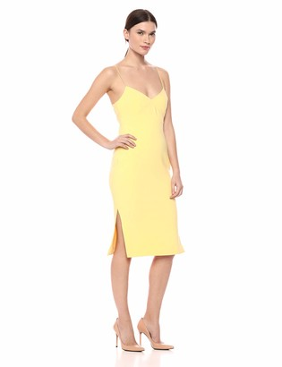 LIKELY Women's Caprio midi Bodycon Cocktail Dress