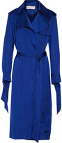 Emilio Pucci Belted satin trench coat