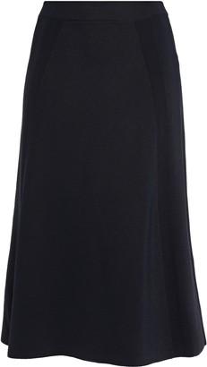 Victoria Beckham Flared Stretch-knit Skirt