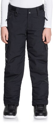 Quiksilver Kids' Porter Waterproof Cargo Snow Pants
