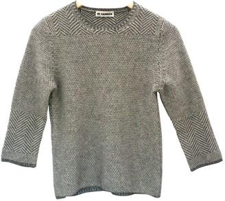 Jil Sander Grey Cashmere Top for Women