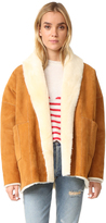 Mes Demoiselles Alaska Reversible Shearling Coat