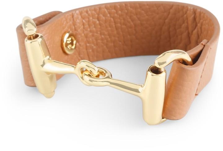C. Wonder Leather Horse Bit Bracelet