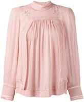 Isabel Marant Skara blouse - women - Silk/Viscose - 36