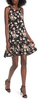 BP Women's Floral Ruffle Hem Dress