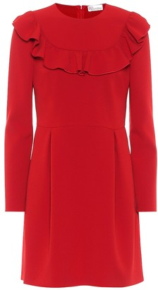 RED Valentino stretch-crepe minidress
