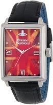 Vivienne Westwood Men's VV066SLBK The Imperialist Swiss Quartz Black Leather Strap Watch