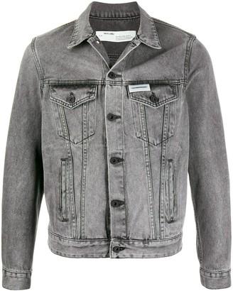 Off-White Faded Denim Jacket