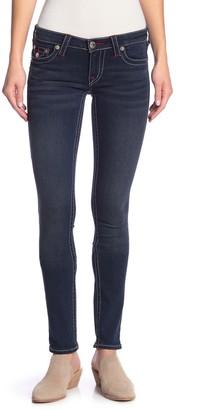True Religion Flap Pocket Stretch Skinny Jeans