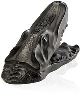 Lalique Crocodile Sculpture