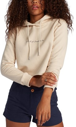 Roxy Easy Afternoon Made of Sunshine Cotton Blend Graphic Hoodie