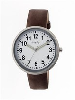 Simplify The 2600 White Watch.