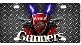 Arsenal Metal Car License Plate Design Custom Car Tag-04