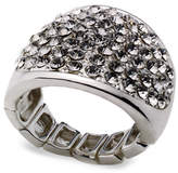 INC International Concepts Ring, Silver-Tone Stretch Bling Ring
