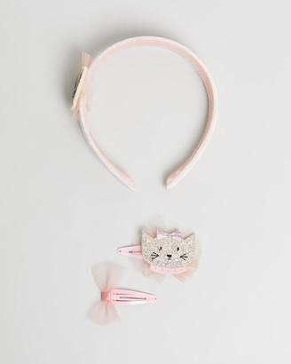 Billy Loves Audrey Well Dressed Cat Clip & Headband Set