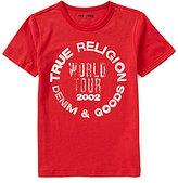 True Religion Big Boys 8-20 Denim & Goods Short-Sleeve Graphic Tee