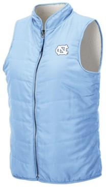 Colosseum Women's North Carolina Tar Heels Blatch Reversible Vest
