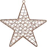 Nkuku Hadi Rust Wire Star