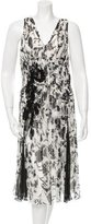 Derek Lam Silk Printed Dress