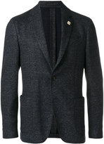 Lardini patch pockets blazer - men - Cotton/Linen/Flax/Polyester/Wool - 50