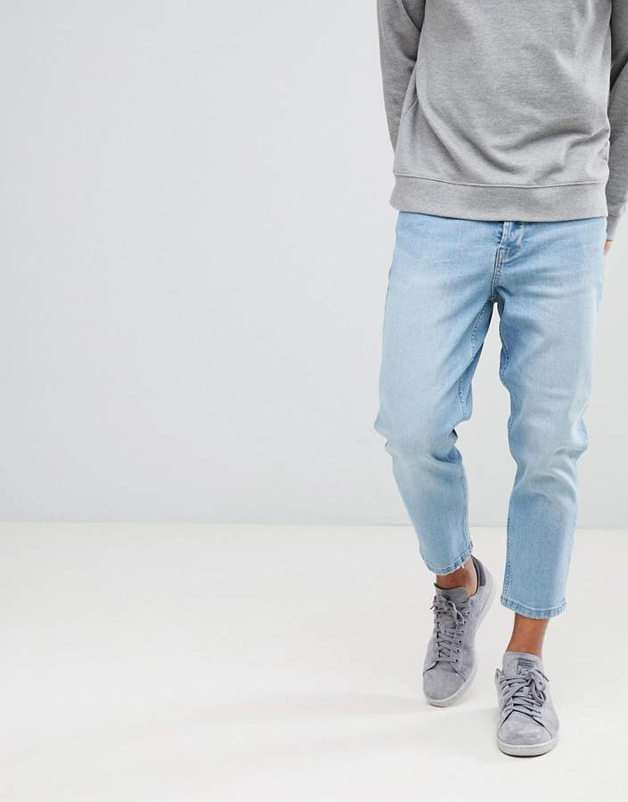 ONLY & SONS Skinny Jeans With Cropped Leg