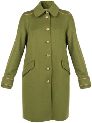 Muza Embellished Military Style Coat