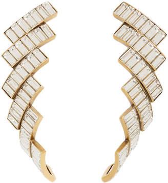 Balenciaga Gold Evening Earrings