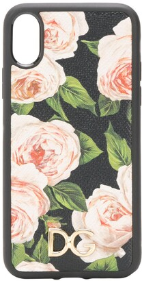 Dolce & Gabbana floral iPhone case