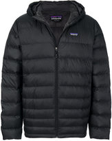 Patagonia padded jacket with hood