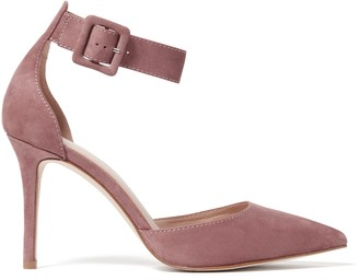 Forever New Andie Square Buckle Court Heels - Dusty Blush - 41