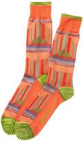 Robert Graham Biaggio Crew Socks