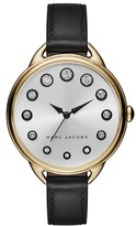 Marc Jacobs Women's 'Betty' Leather Strap Watch, 36Mm