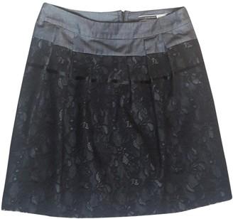 Sportmax Black Cotton Skirt for Women