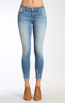 Mavi Jeans Adriana Ankle Super Skinny In Lt Shaded Glam