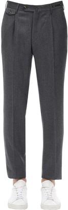Pantaloni Torino VIRGIN WOOL & CASHMERE FLANNEL PANTS