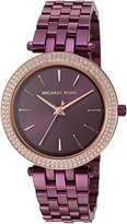 Michael Kors Women's 'Mini Darci' Quartz Stainless Steel Casual Watch, Color: (Model: MK3725)