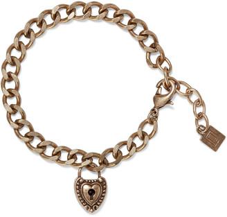 Dannijo Agatha Oxidized Gold-plated Bracelet