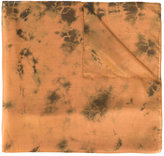 Mes Demoiselles printed scarf - women - Linen/Flax - One Size