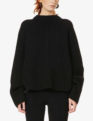 KHAITE Virginia round-neck cashmere jumper