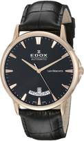 Edox Men's 83015 37R NIR Les Bemonts Analog Display Swiss Automatic Watch